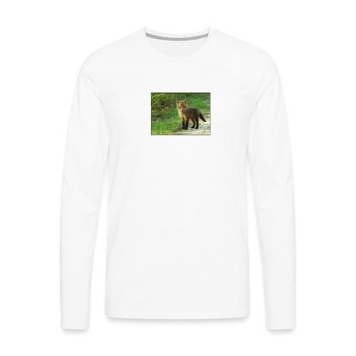 vossen shirt kind - Mannen Premium shirt met lange mouwen