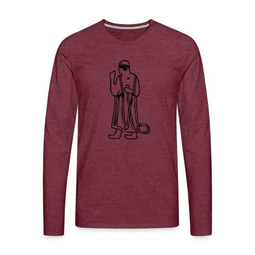 Muwatalli schwarz png - Men's Premium Longsleeve Shirt