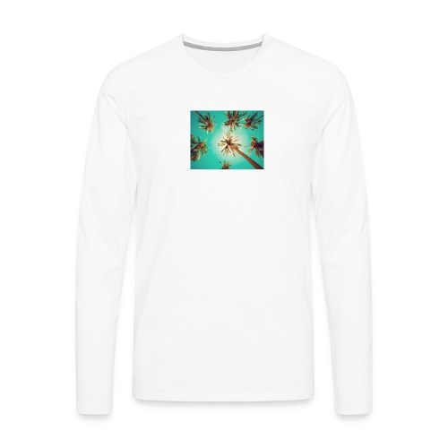 palm pinterest jpg - Men's Premium Longsleeve Shirt