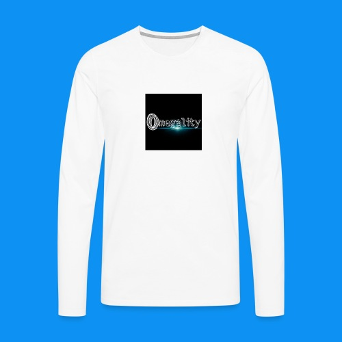 omegality - T-shirt manches longues Premium Homme
