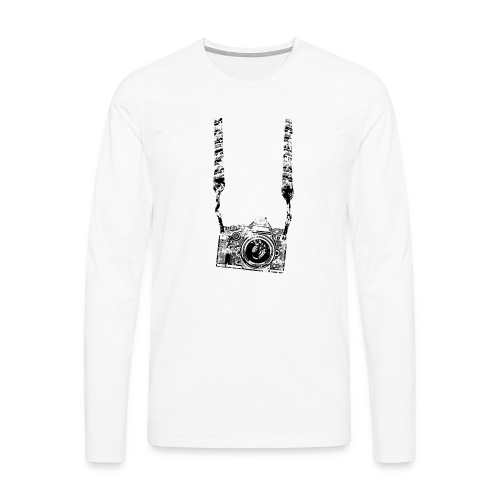 Kamera - Männer Premium Langarmshirt