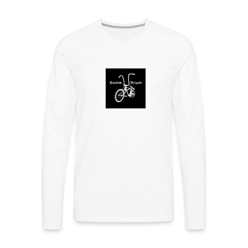 badge001 - T-shirt manches longues Premium Homme