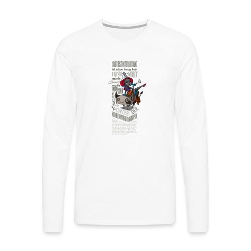 Lactosel und Ina Toleranza - Männer Premium Langarmshirt