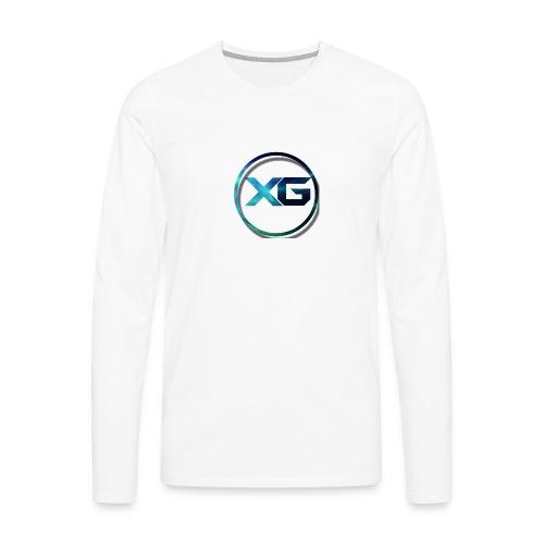 XG T-shirt - Mannen Premium shirt met lange mouwen