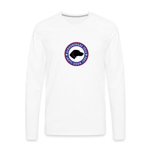Jorelogo iso png - Miesten premium pitkähihainen t-paita