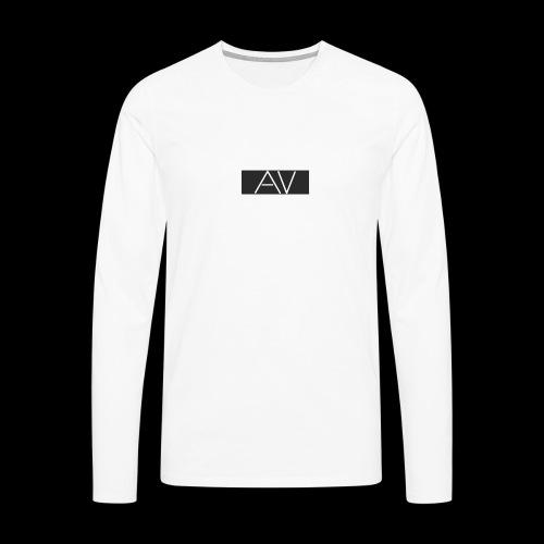 AV White - Men's Premium Longsleeve Shirt