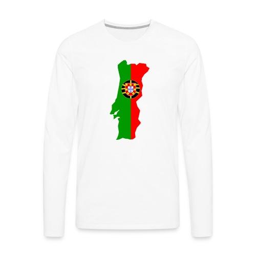Portugal - Mannen Premium shirt met lange mouwen