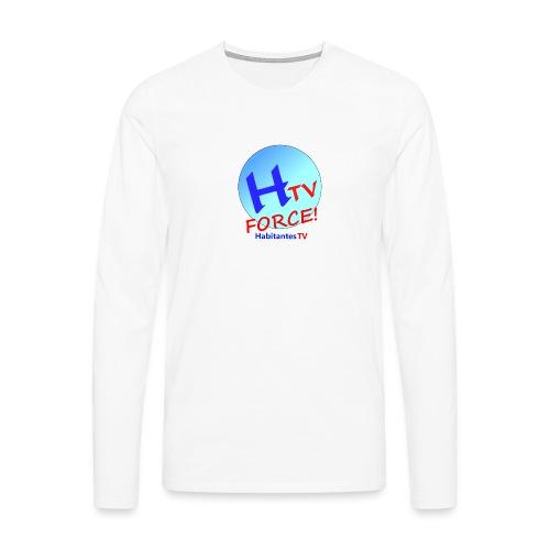 LOGO1.png - Camiseta de manga larga premium hombre