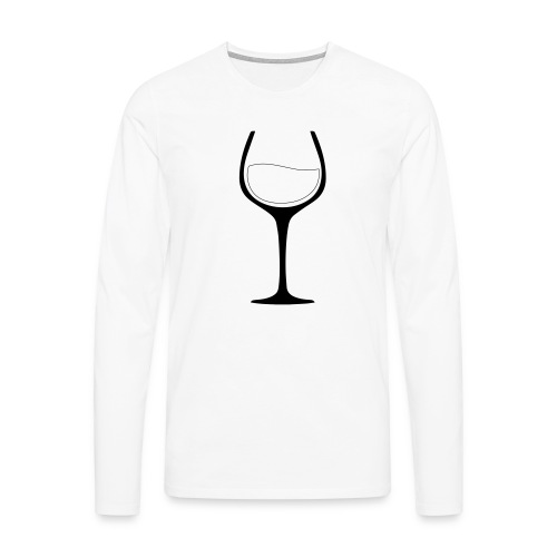 Nur noch ein Glas - Männer Premium Langarmshirt