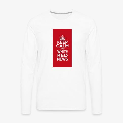 cover cellulare jpg - Maglietta Premium a manica lunga da uomo