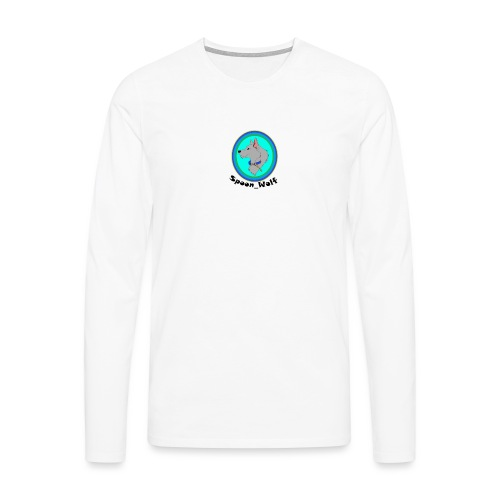 Spoon_Wolf_2-png - Men's Premium Longsleeve Shirt
