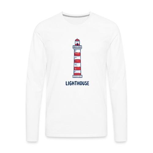 Lighthouse - Männer Premium Langarmshirt