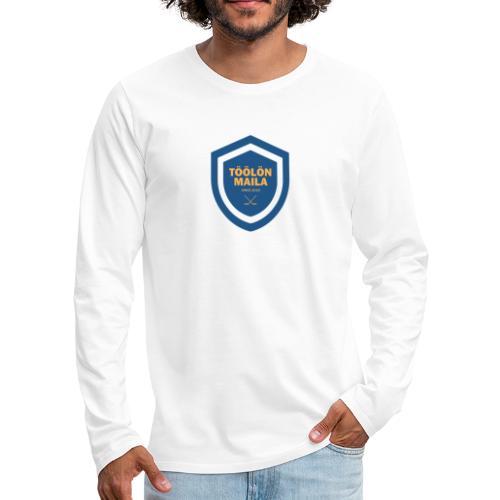 Töölön Maila - Miesten premium pitkähihainen t-paita