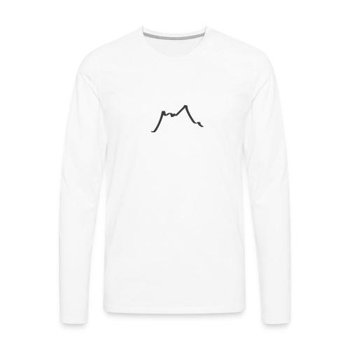Berge - Männer Premium Langarmshirt
