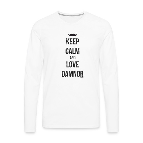 Keep calm and ... (F) - T-shirt manches longues Premium Homme