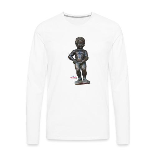 BiG REAL mannekenpis ♀♂ | 小便小僧 - T-shirt manches longues Premium Homme
