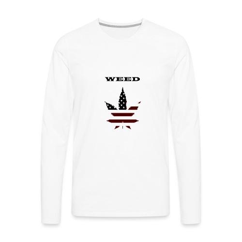 WEED Shirt - Männer Premium Langarmshirt