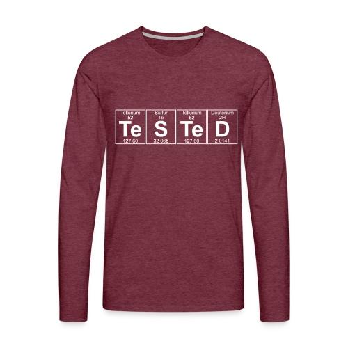 Te-S-Te-D (tested) (small) - Men's Premium Longsleeve Shirt