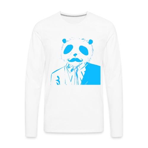 BluePanda Logo - Men's Premium Longsleeve Shirt