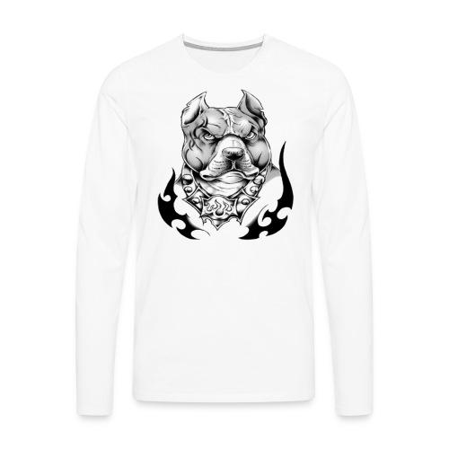 street pitt - T-shirt manches longues Premium Homme