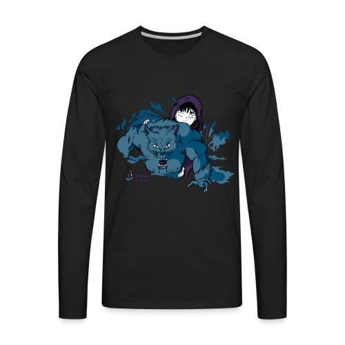 Rothäppchen fürShirt END png - Männer Premium Langarmshirt