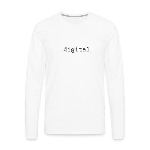 digital - T-shirt manches longues Premium Homme