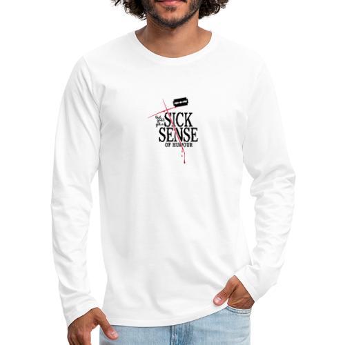 DM blasphemous cut - Männer Premium Langarmshirt