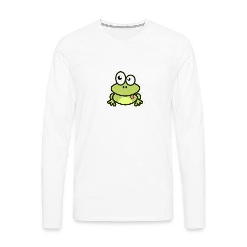 Frog Tshirt - Men's Premium Longsleeve Shirt