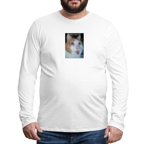 TOFFO THE CAT - Miesten premium pitkähihainen t-paita