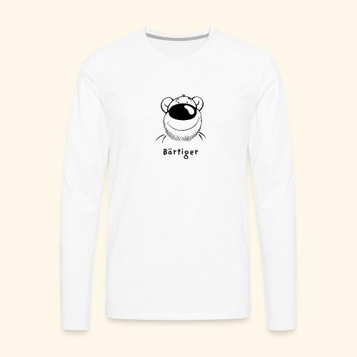 Bärtiger - Männer Premium Langarmshirt