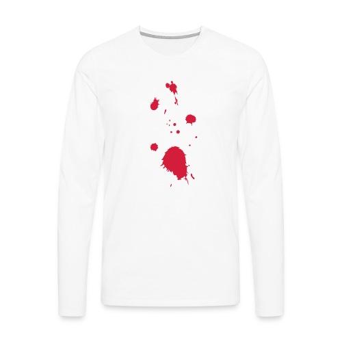 blut - Männer Premium Langarmshirt
