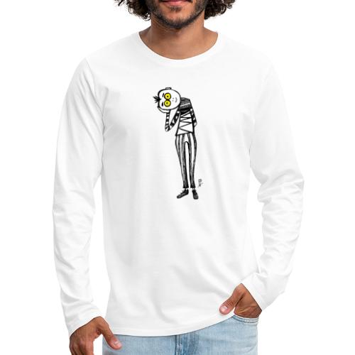 Punto di Vista - Maglietta Premium a manica lunga da uomo