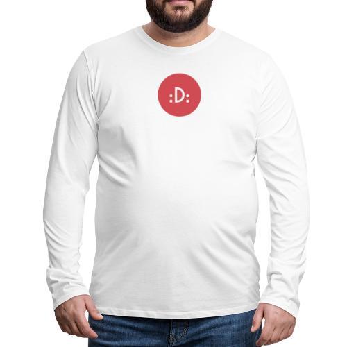 Code - :D: - T-shirt manches longues Premium Homme