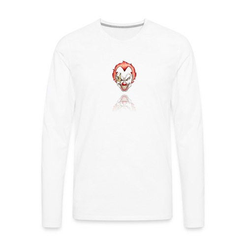 clown-png - Mannen Premium shirt met lange mouwen