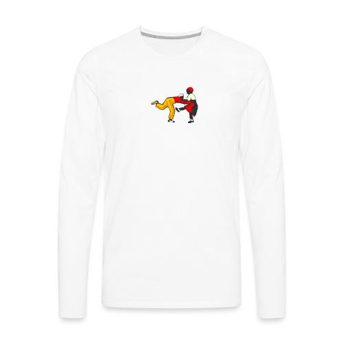 Do the Lindy Liten - Långärmad premium-T-shirt herr