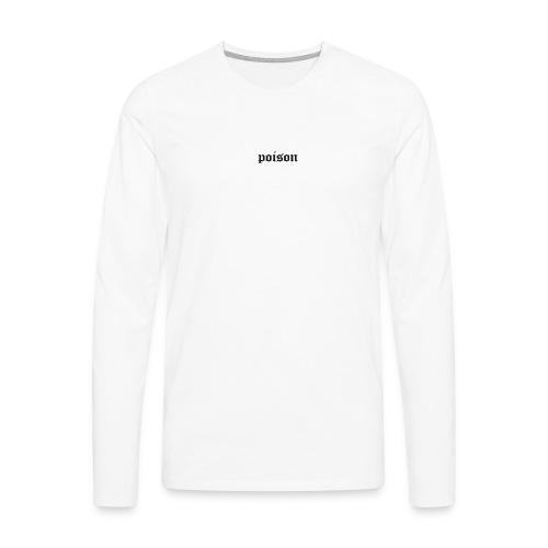poison clo. black - Männer Premium Langarmshirt