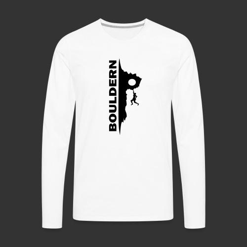 Bouldern - Männer Premium Langarmshirt