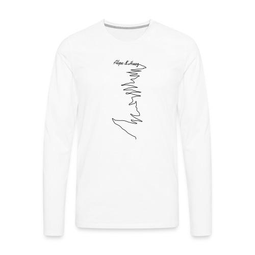 Alpe d'Huez - Männer Premium Langarmshirt