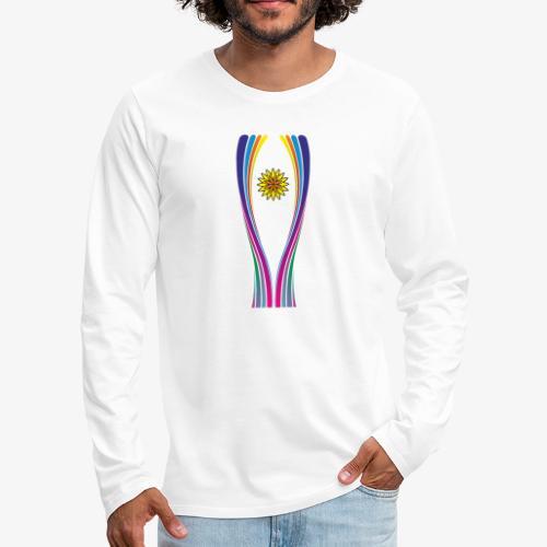 SOLRAC World Cup - Camiseta de manga larga premium hombre