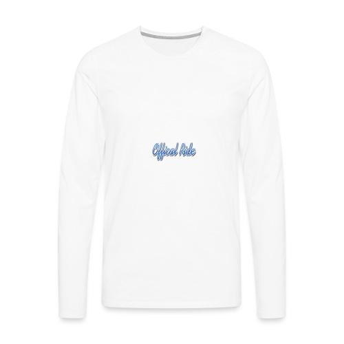 Offical Ride - Männer Premium Langarmshirt