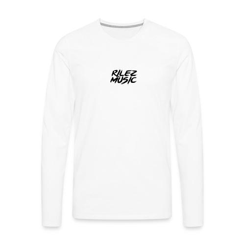 Camiseta de pico rilez - Camiseta de manga larga premium hombre