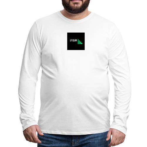 LF CLAN - Långärmad premium-T-shirt herr