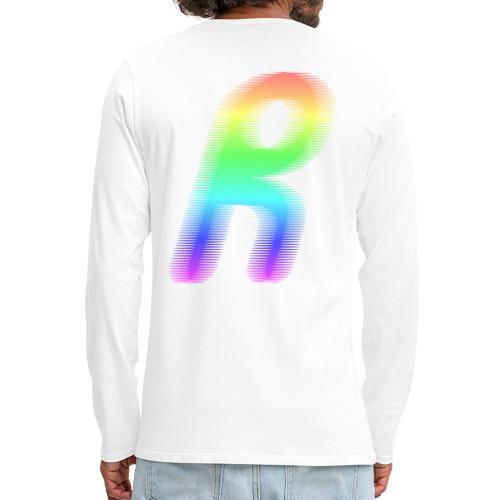 Spektrum - Långärmad premium-T-shirt herr