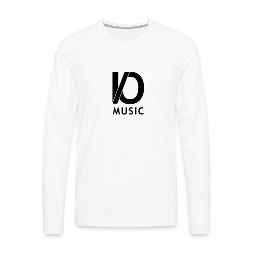iomusic_black - Men's Premium Longsleeve Shirt