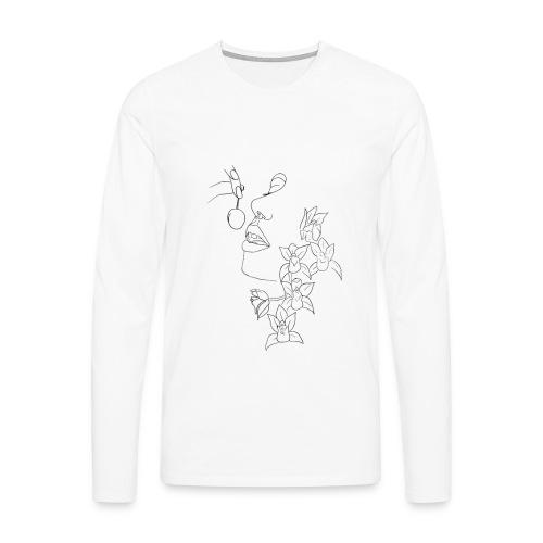 Chérie - Männer Premium Langarmshirt