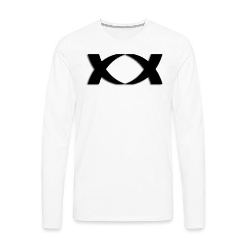 watermark black png - Men's Premium Longsleeve Shirt