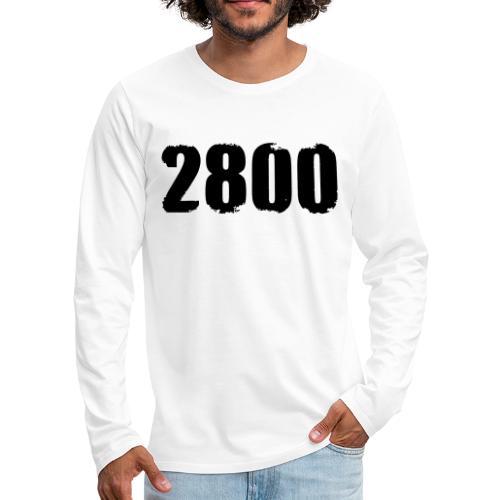 2800 - Mannen Premium shirt met lange mouwen