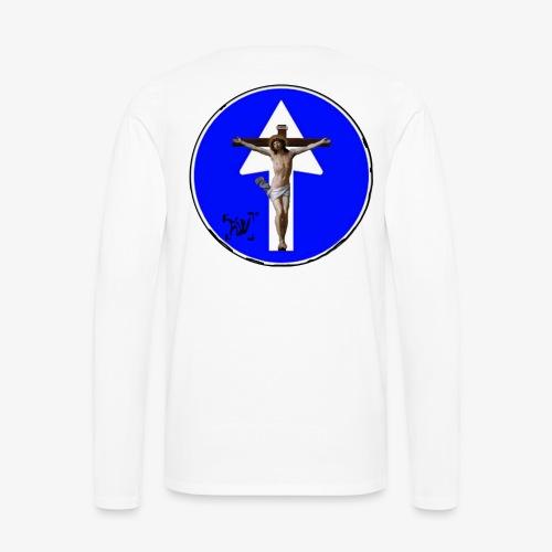 Gesù - Maglietta Premium a manica lunga da uomo