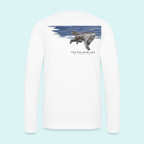 Polar-Blues-SpSh - Men's Premium Longsleeve Shirt