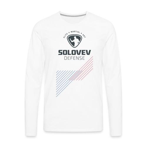 SD EMA back grey - Männer Premium Langarmshirt